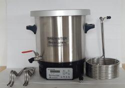 Ingredienser og udstyr til hjemmebrygning af øl